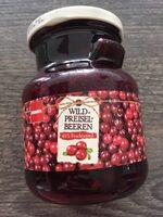 Wildpreiselbeeren - Produit - de