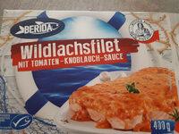 Wildlachsfilet mit Tomaten Knoblauch Sauce - Product - de