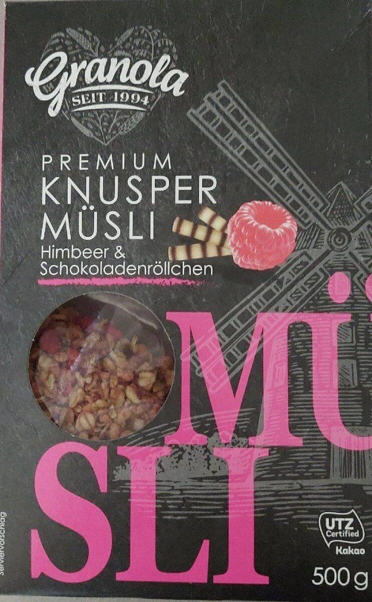 Premium knusper Müsli - Prodotto - de