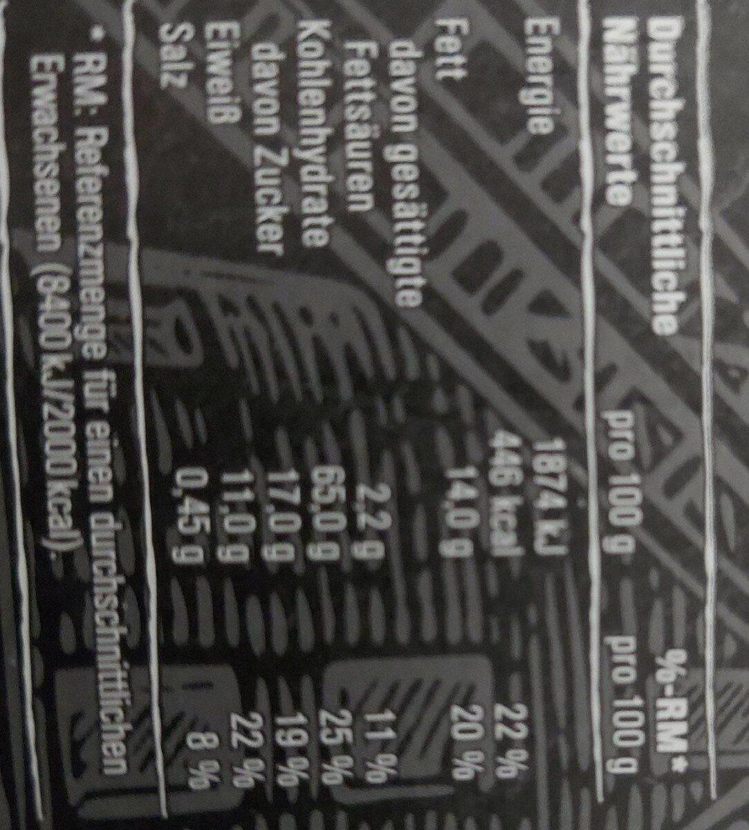 Premium knusper Müsli - Valori nutrizionali - de