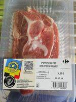Côtelettes de spiringue - Produit - fr
