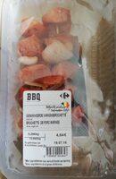 Brochette de porc marinée - Produit - fr