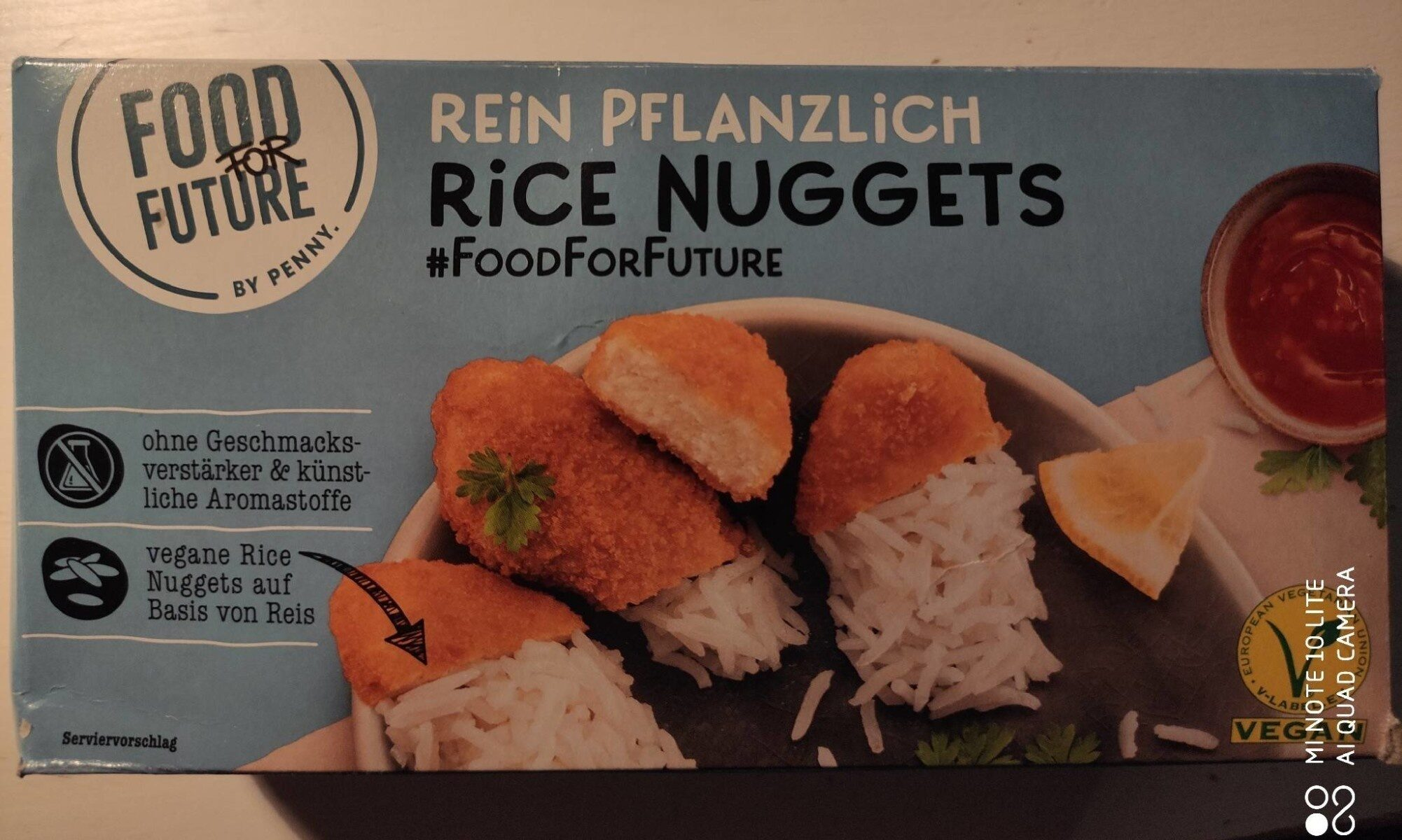 Rice Nuggets - Produit - de