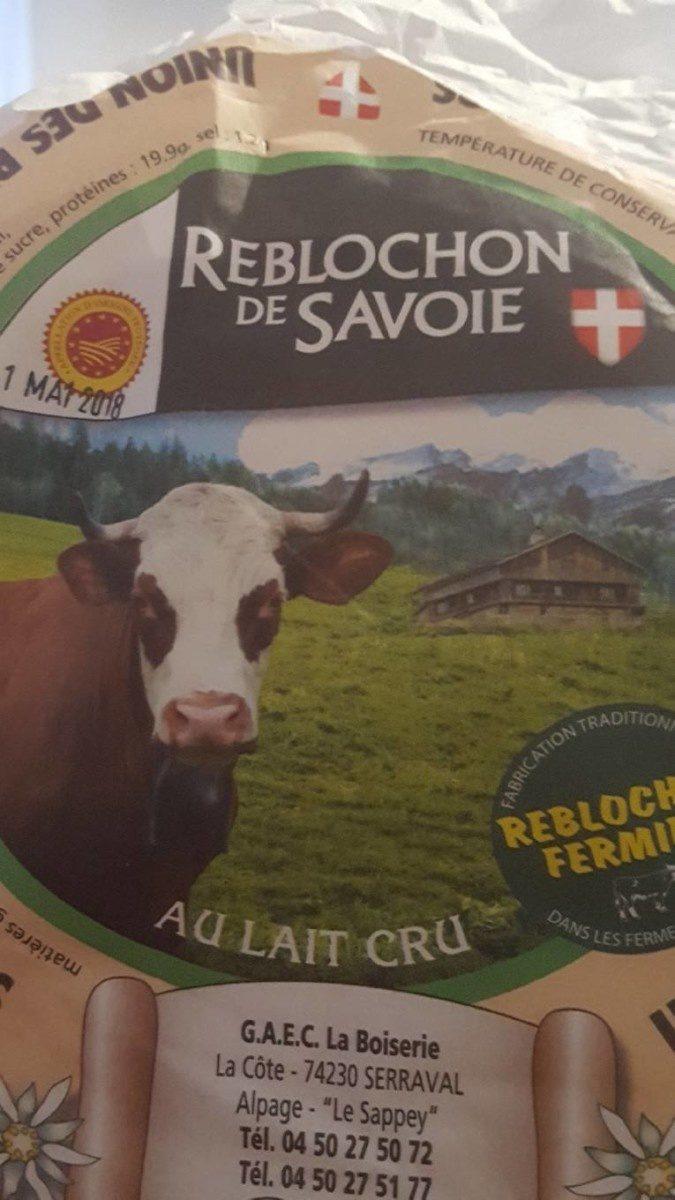 Reblochon fermier de Savoie - Product - fr