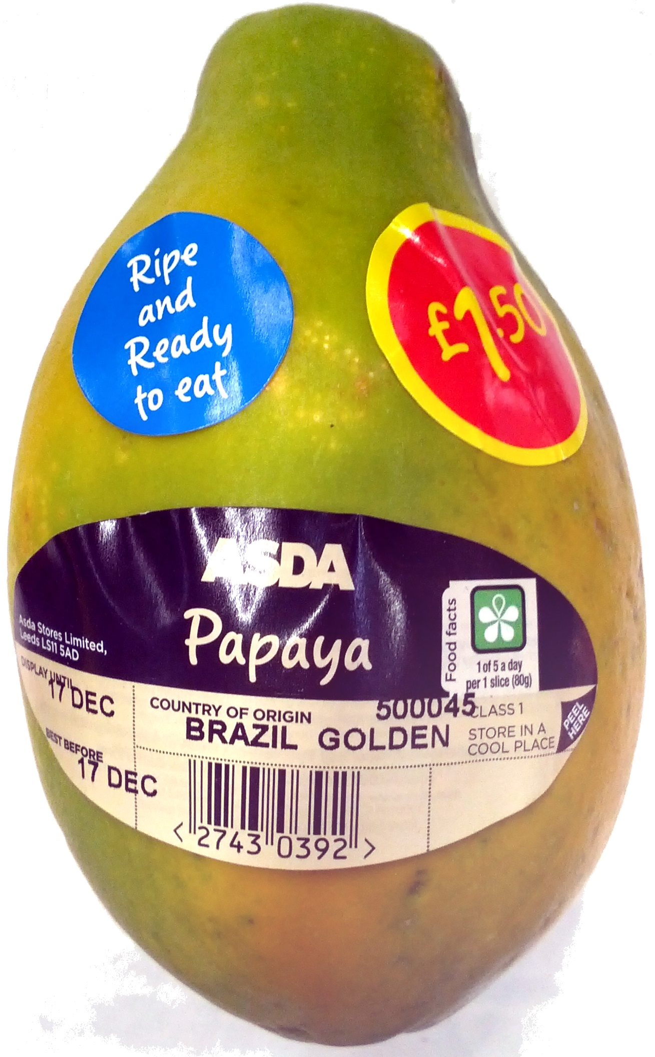 Papaya - Produit - en