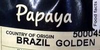 Papaya - Ingrédients - en