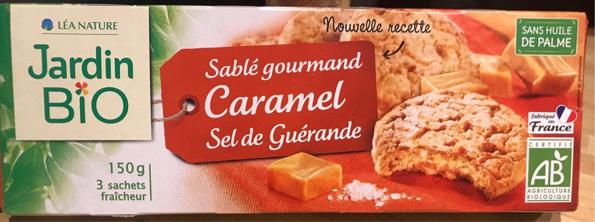 Sablé gourmand caramel sel de Guérande - Product