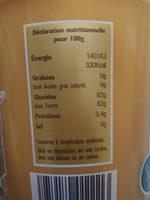 miel - Ingrediënten