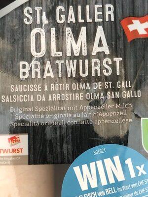 Saucisse St Gall - Produit - fr