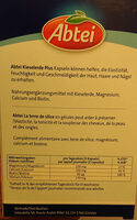 La terre de silice Plus - Nutrition facts