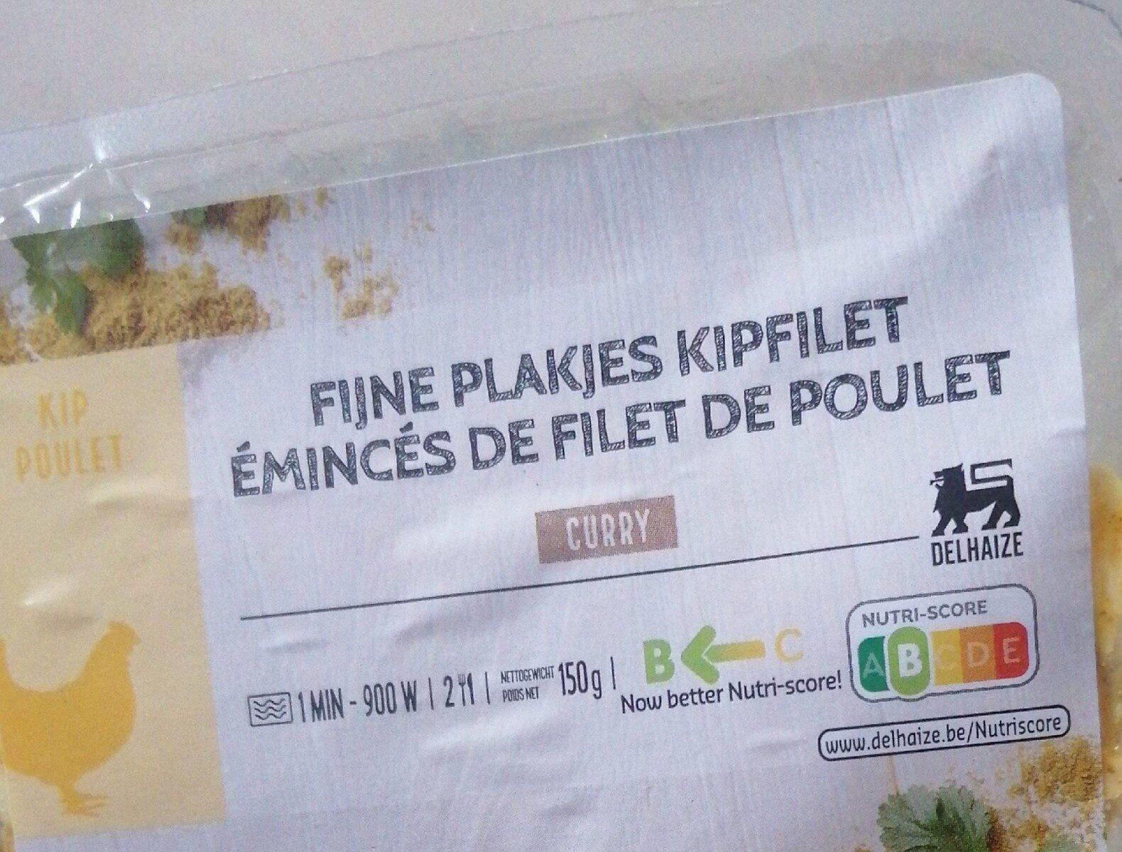 Émincés de filet de poulet - Product - fr