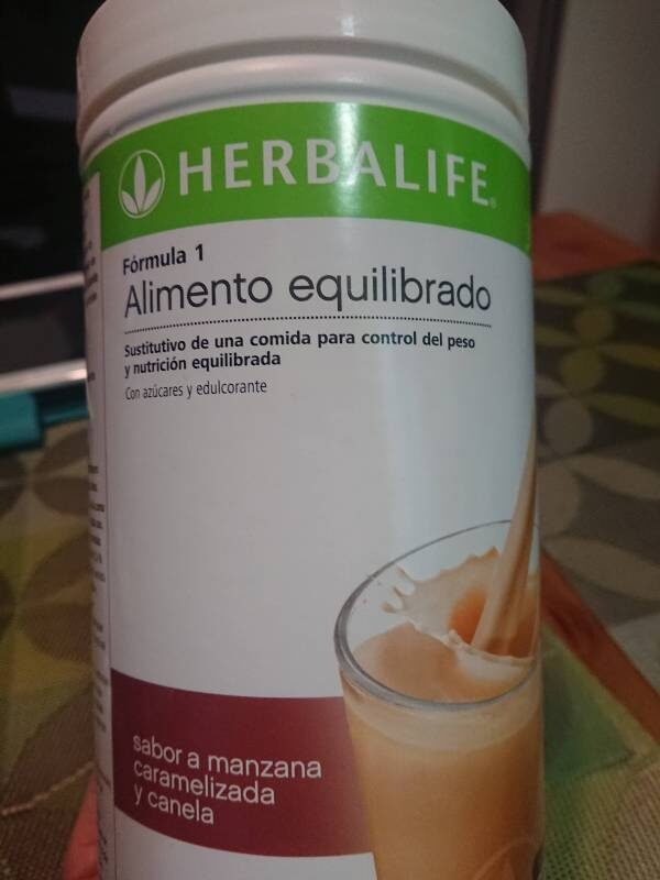Formula 1 sostituto del pasto Mela Speziata 550 g alimenti Herbalife - Product - it