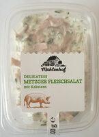 Delikatess Metzger Flesischsalat mit Kräutern - Product - de