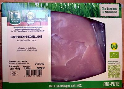Bio-Puten-Medaillons - Produkt