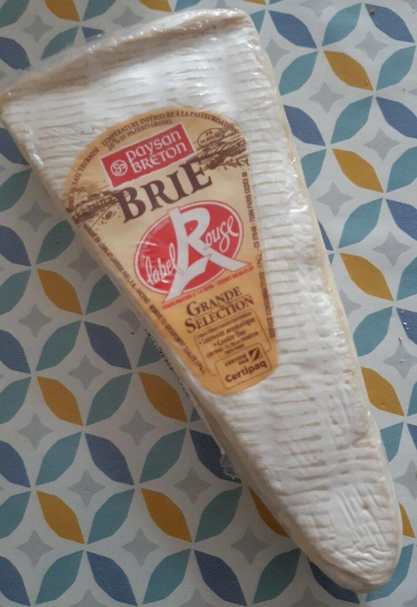 Brie label rouge - Product - fr