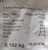 Nürnberger Würstchen - Zutaten - de