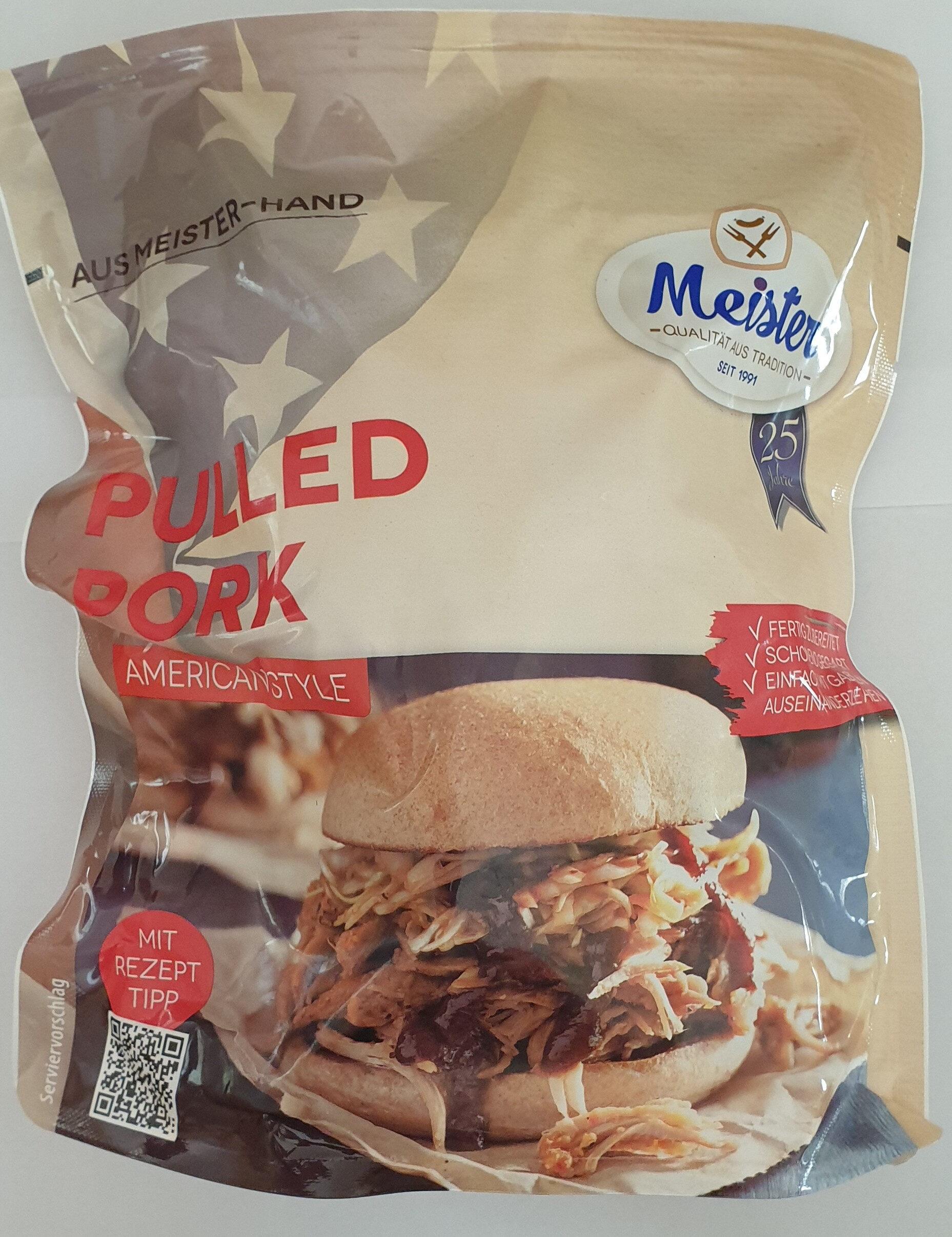 Pulled pork, American style - Prodotto - de