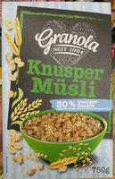 Knusper Musli - Product - de