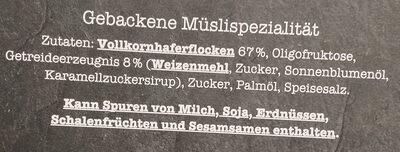 Knusper Musli - Ingredients - de