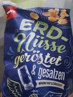 Erdnüsse geröstet & gesalzen - Product - de