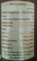 """""""BOA"""" energy drink - Wartości odżywcze - pl"""