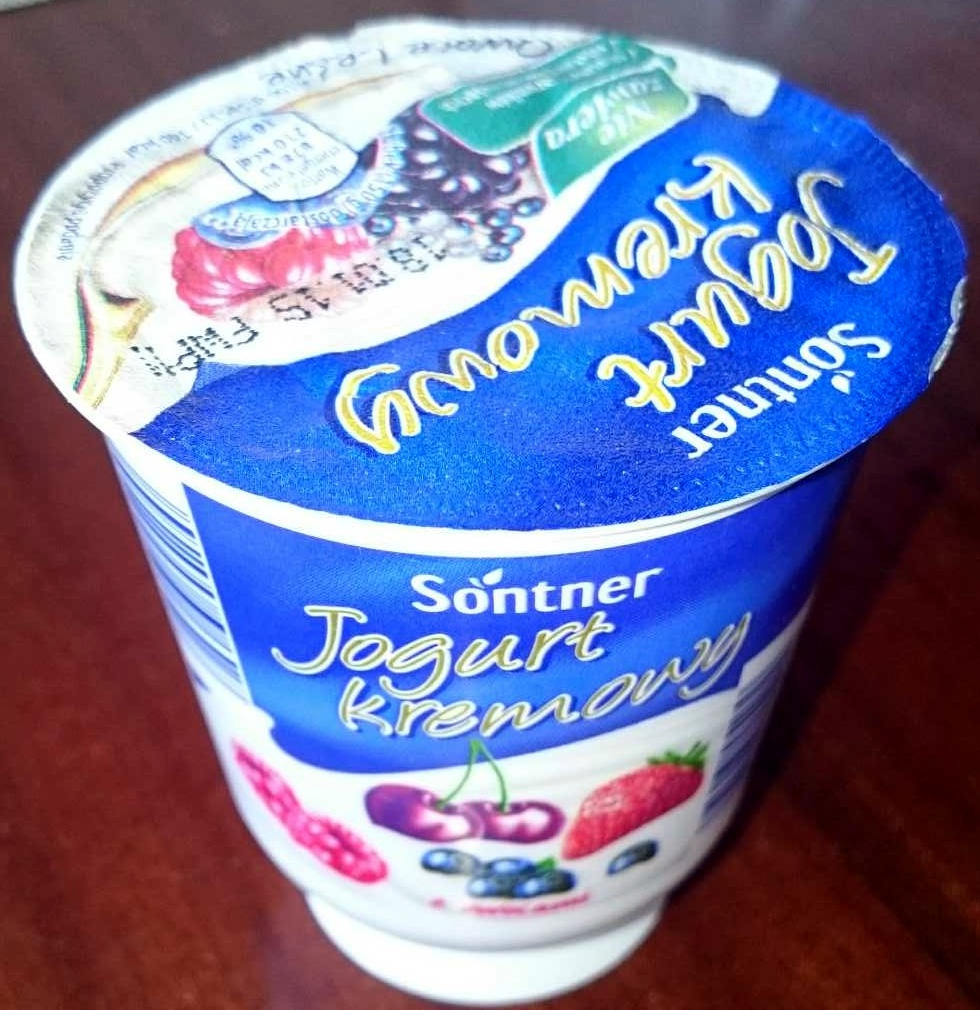 Jogurt kremowy z owocami - Product - pl