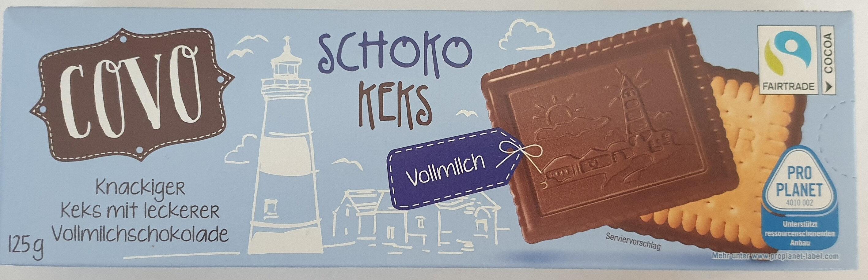 Choko Keks Vollmilch - Produkt - de