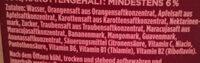Mulitvitamin-Nektar - Ingredients - de