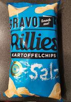 Bravo Rillies Kartoffelchips Salz - Produkt - de