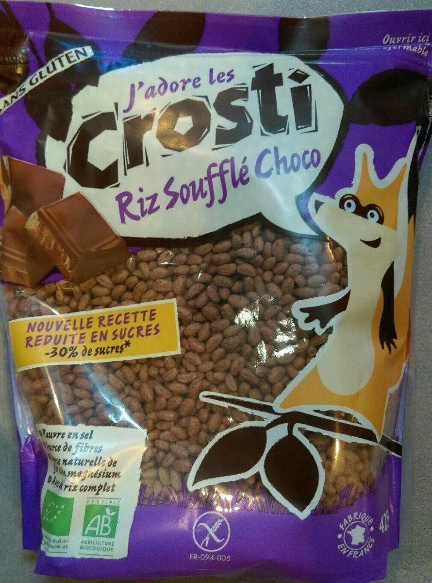 Riz soufflé choco - Produit - fr