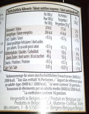 Confiture de fraisee - Ingrediënten - fr