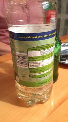 Ice Tea Grüntee light - Nutrition facts