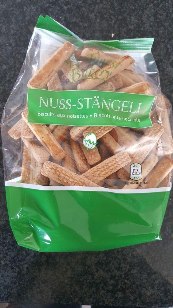 Biscuits aux nooisettes - Produit