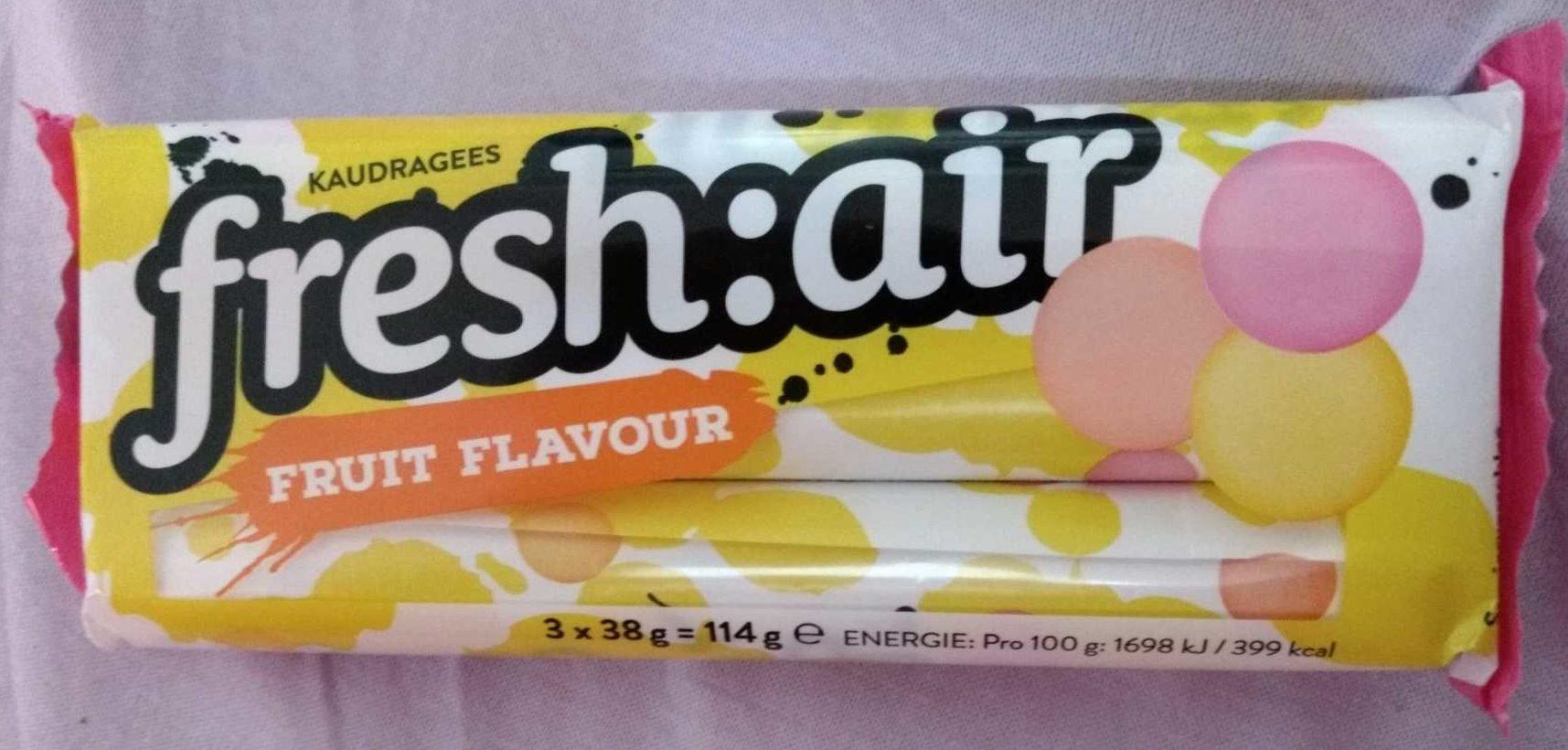 fresh:air fruit flavor - Produkt