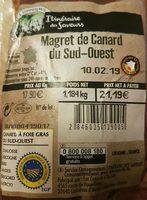 Magret de canard du Sud-Ouest - Ingrediënten