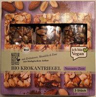 Bio Krokantriegel Nußmix-Zimt - Produit
