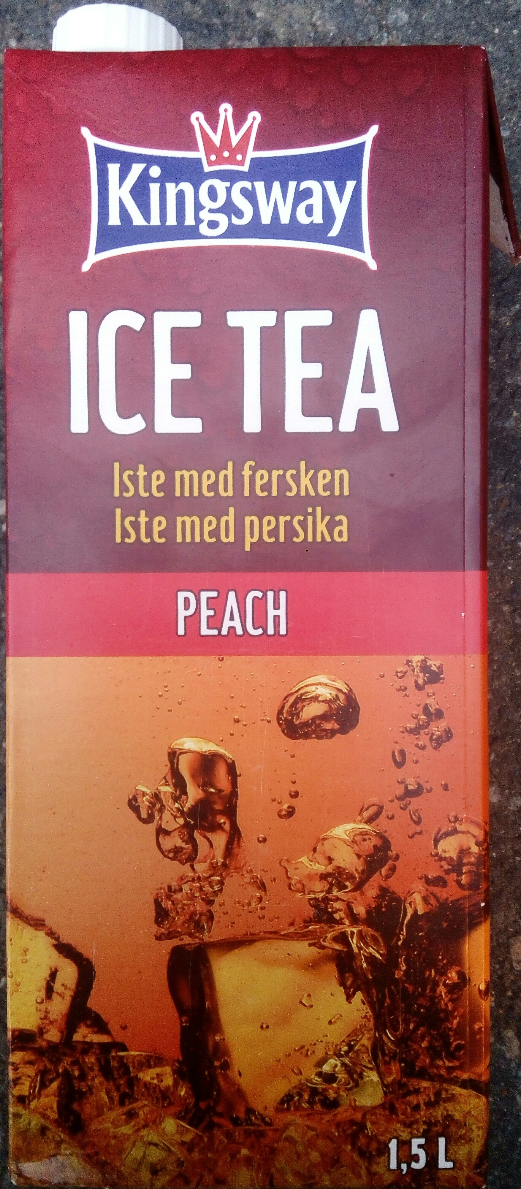 Kingsway Ice Tea Peach - Product