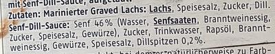 Premium Graved Lachs - Ingredients - de