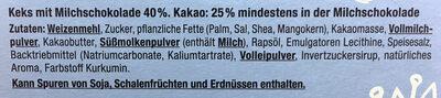 Schoko keks-sticks - Ingrediënten - de