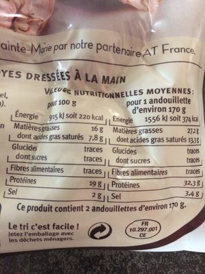 Andouillettes Troyes - Ingrediënten - fr