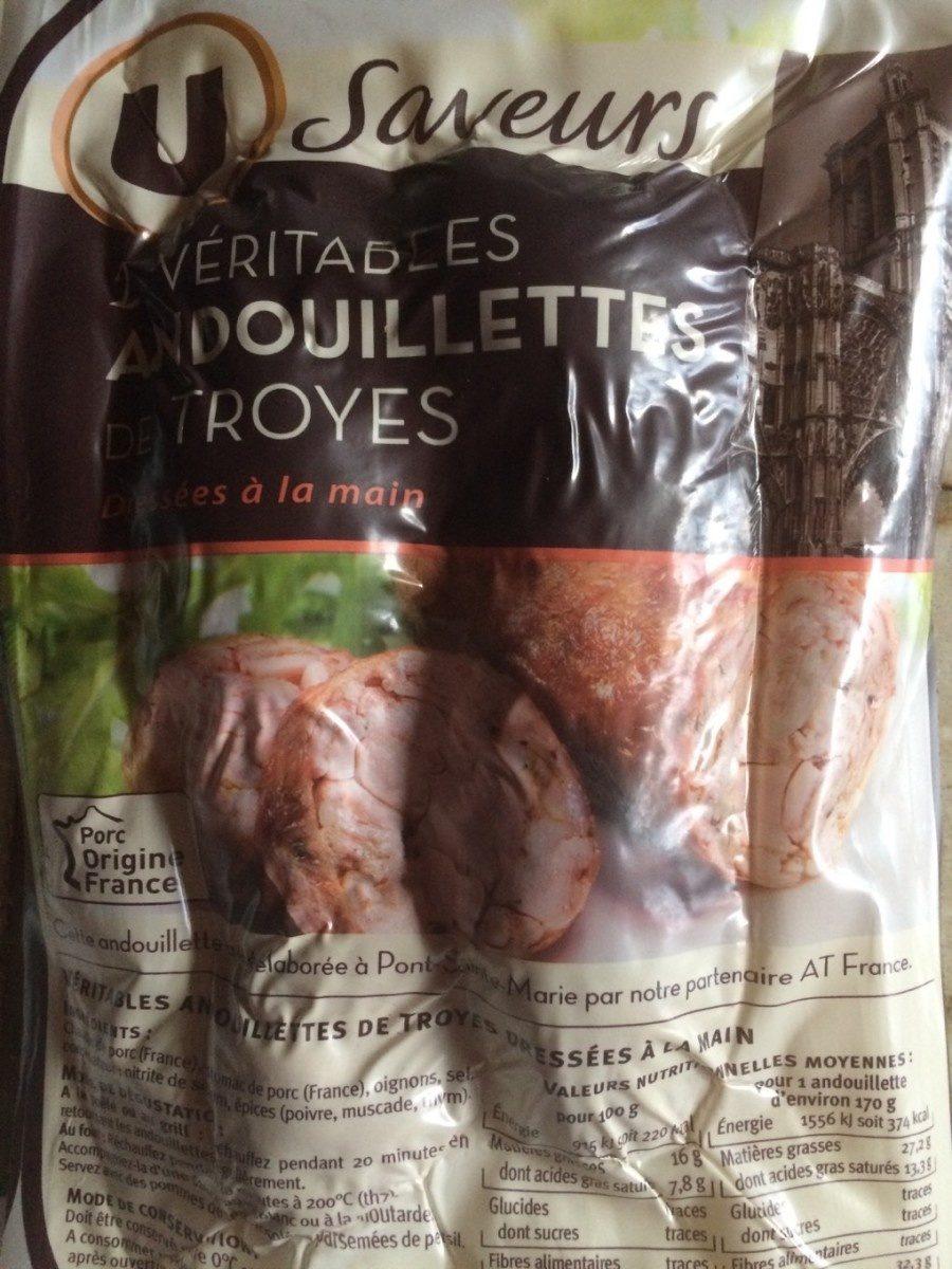 Veritables andouillettes de Troyes - Product