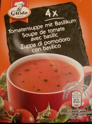 Soupe de tomate avec basilic - Prodotto - fr