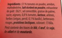 Soupe de tomate avec basilic - Ingredienti - fr