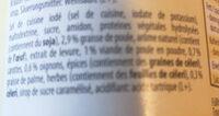 Hühner bouillon de poule - Ingredienti - fr