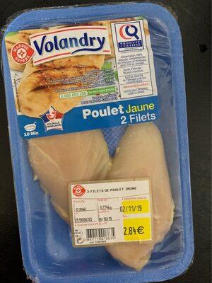 Filet de Poulet jaune - Produit - fr