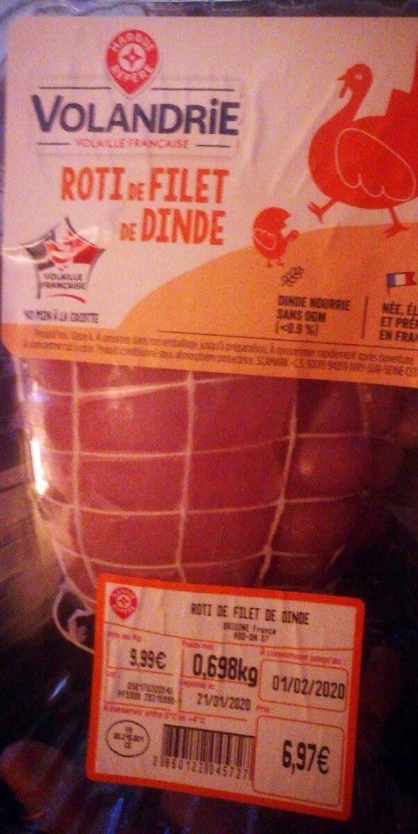 Rôti de Filet de dinde - Prodotto - fr