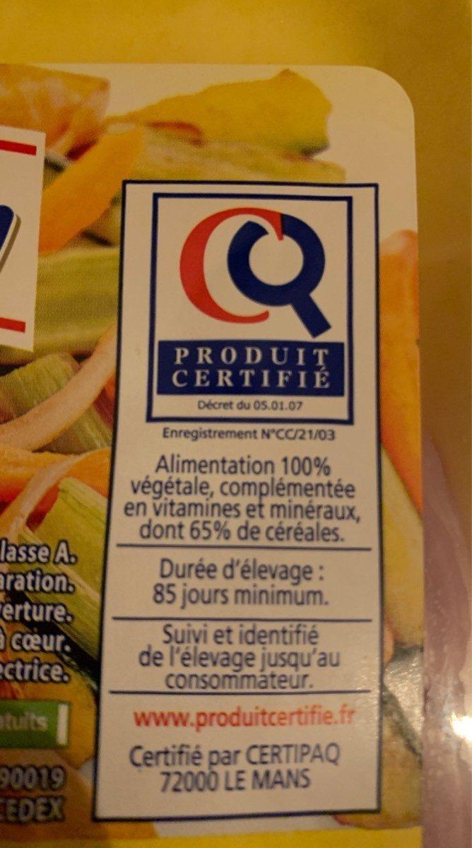 Escalopes de dinde - Ingredienti - fr