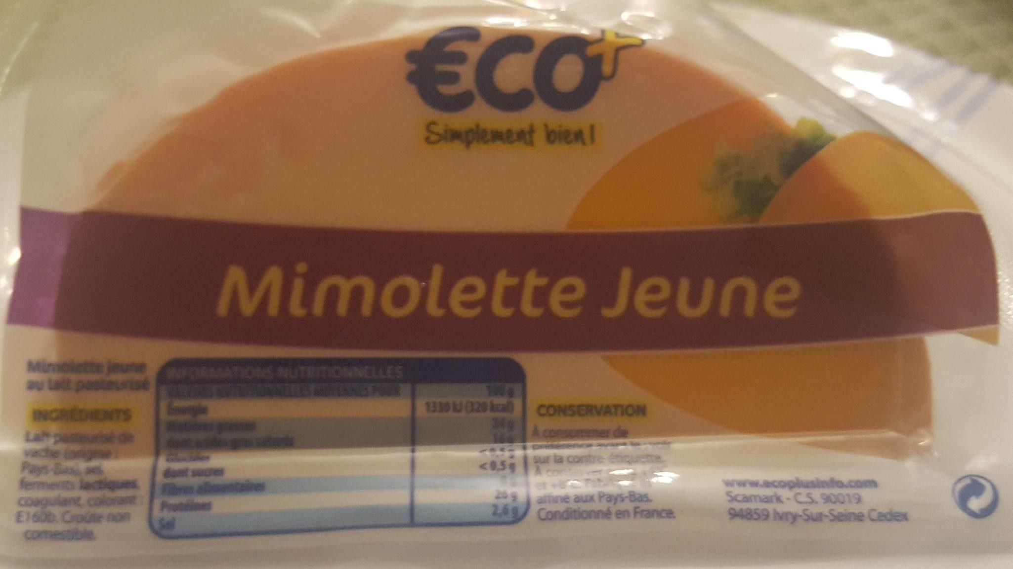 mimolette jeune au lait pasteurisé - Product