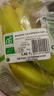 Bananes calendes cat 2 - Produit - fr