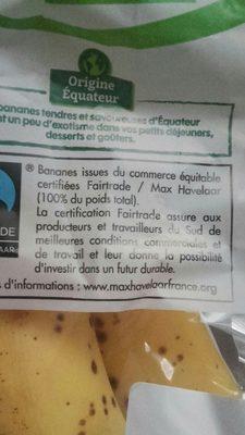 Bananes - Ingrédients - fr